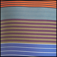 Stripes Cusco Orange
