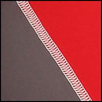Graphite/Red/White