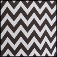 White/Black Chevron