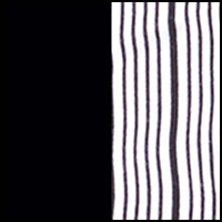 Black/Blk-White Stripe