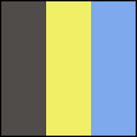 Blue/Chartruese/Grey