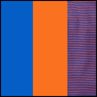 Blu/Oran Stripe/Orange