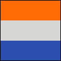 Cobalt/Orange/Platinum