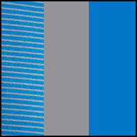 Blue/Grey Stripe/Grey
