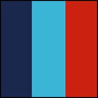 Red/Turq/Blue
