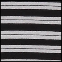 Stripe Caviar Black
