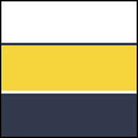 White/Yellow/Navy