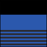 Blue/Stripe/Black