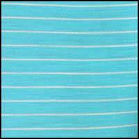 Stripe Aquamarine/Snow