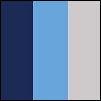 Cosmic Blue/Silver/Ink