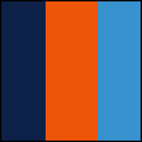 Navy/Orange/MarineBlue