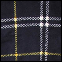 Lochaber Plaid Navy