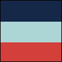 Dark Blue/Coral/Blue