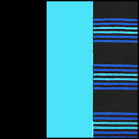 Turquoise/Black