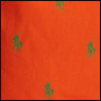 Dusk Orange/Flag Green