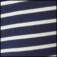 Navy/Nevis Stripe