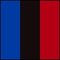 Royal/Black/Red
