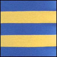PoloYellow/Blue Stripe