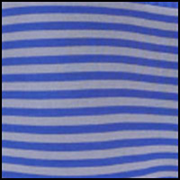 Cobalt Grey Stripe