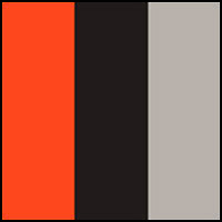 Persimmon/Grey/Black